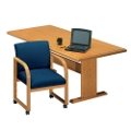 """Contemporary Rectangular Conference Table - 8' x 3'6"""", 40568"""