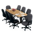 "Boat Shape Conference Table - 72"" x 36"", 40573"