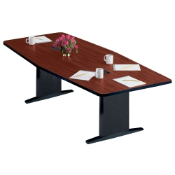 "Boat Shape Conference Table - 96"" x 48"", 40583"
