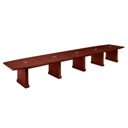20' Conference Table with Dataports, 40825