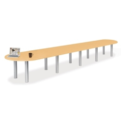 20' W Racetrack Conference Table, 40945