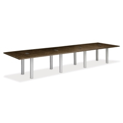 16' W Conference Table with Data Ports, 40951