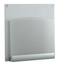 HIPAA-Compliant Frosted Plexiglass One Pocket Chart Holder, 26492