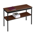 "Fixed Leg Utility Table with Lower Shelf - 18"" x 48"", 41077"