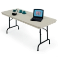 "Lightweight Rectangular Folding Table - 60"" x 30"", 41134"