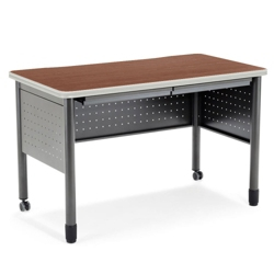 "55""W Table Desk with Drawers, 41398"