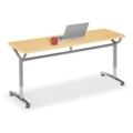 "Adjustable-Height Training Table 60""W x 20""D, 41425"
