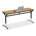 "Adjustable-Height Training Table 72""W x 24""D, 41429"