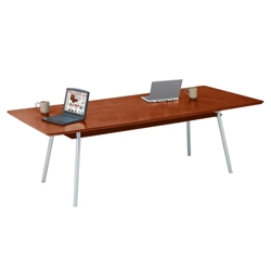 "Conference Table with Underside Shelf - 72"" x 36"", 41648"