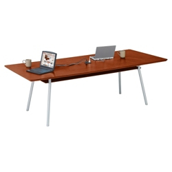 "Conference Table with Underside Shelf and Data Port - 72"" x 36"", 41649"