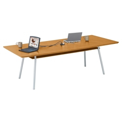 "Conference Table with Underside Shelf - 60"" x 36"", 41646"