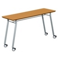 "60""W x 20""D Utility Table with Casters, 41476-1"