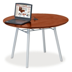 "42"" Round Conference Table with Data Port, 41478"