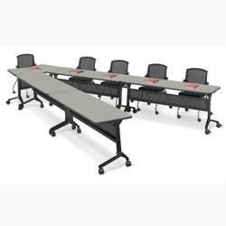 Nesting V-Shape Training Table Set, 41545