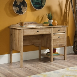 "Compact Single Pedestal Desk - 50""W x 19""D, 15158"