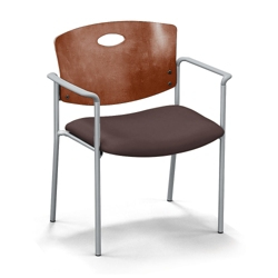 Strata Extra-Wide Chair with Arms, 44252