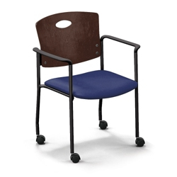 Strata Standard Chair with Arms and Casters, 44253