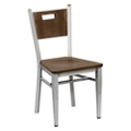 Frappe Wood Cafe Chair with Clear Coat, 44294