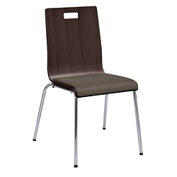 Barista Armless Cafe Chair with Padded Seat, 44343