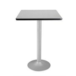 "30"" Square Flip-Top Cafe Table with Pedestal Base, 44576"