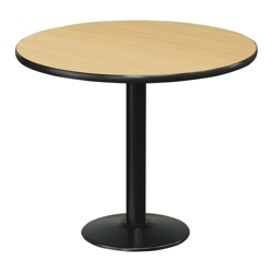 """Cafe au Lait 36"""" Round Standard Height Table, 44603"""