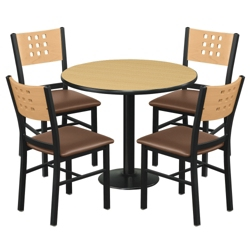 Breakroom Table Chair Sets NBFcom - Break room table and chair sets