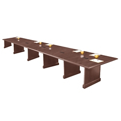 Expandable Conference Table with Data Port - 20', 44624