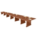 Expandable Conference Table with Data Port - 24', 44625
