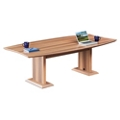 Curved Boat-Shaped Conference Table - 8', 45036
