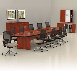 Corsica Collection By Mayline National Business Furniture - Mayline corsica conference table
