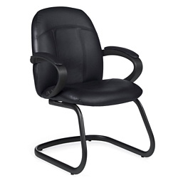 Guest Chair in Standard Leather, 56461