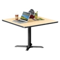 "Frappe Standard Height Square Table - 42""W, 46009"