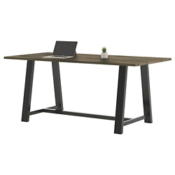 "Collaborative Standing Height Table 84""Wx42""D, 47016"