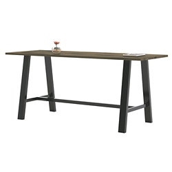 "Collaborative Standing Height Table 84""Wx42""D, 47018"