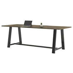 "Collaborative Counter Height Table 120""Wx42""D, 47023"