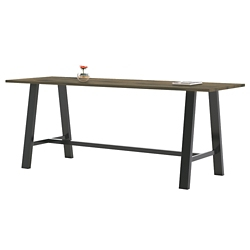 "Collaborative Standing Height Table 108""Wx42""D, 47024"