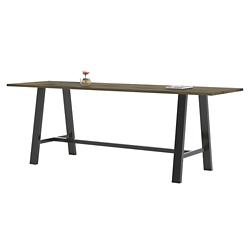 "Collaborative Standing Height Table 120""Wx42""D, 47025"