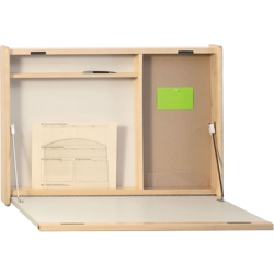 "Wall Mounted Workstation - 30""W x 4""D, 14754"