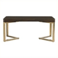 "Writing Desk with Gold Leaf Frame - 66.3""W, 10012"