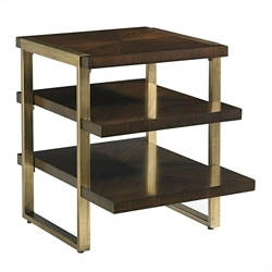"End Table with Staggered Shelves - 22""W, 53042"