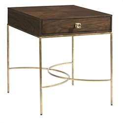 """One Drawer End Table - 22.125""""W, 53051"""