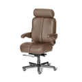Big and Tall Office Chair in Genuine Leather, 50071