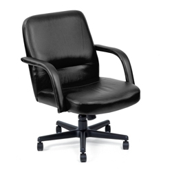 Mid Back Leather Executive Chair, 50362