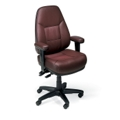 High Back Bonded Leather Ergonomic Chair, 50456