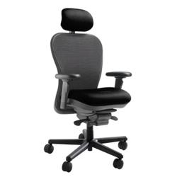 450 lb. Capacity Heavy-Duty Mesh Chair with Headrest, 50722