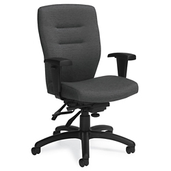 Fabric Medium Back Ergonomic Task Chair, 57174