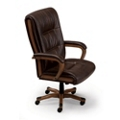 Set of 14 Faux Leather Chairs, 50982