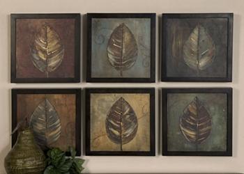 Colorful Leaf Wall Art, 83163