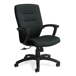 Fabric Medium Back Conference Chair, 57176