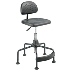 Economy Polyurethane Industrial Chair, 57109